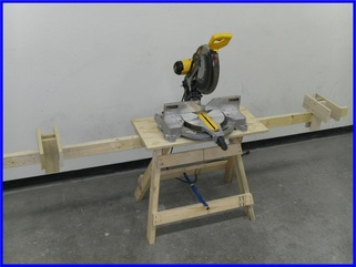 miter saw extension wings